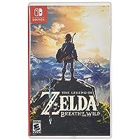 Deals on The Legend of Zelda: Breath of the Wild Nintendo Switch