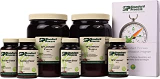 Standard Process Purification Kit with SP Complete Vanilla and Gastro-Fiber - Weight Management and Detox and Liver Suppor...