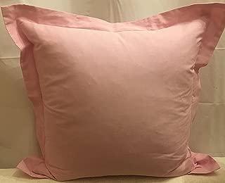 Ralph Lauren Luxury Oxford Pink 18x18 Feather Throw Pillow