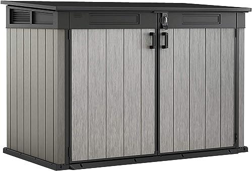 Keter Grande Store Abri Horizontal, Gris, (LxPxH) 190,5 x 109,5 x 132,5 cm