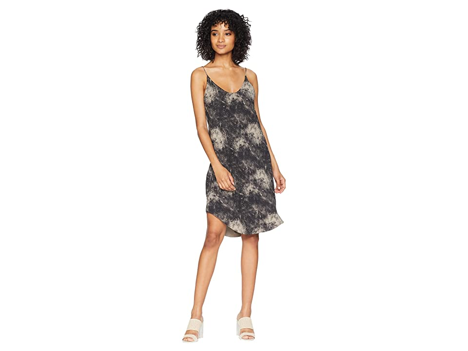 Hurley Coastal Cami Dress (Anthracite) Women