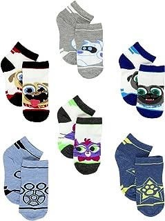 Puppy Dog Pals Toddler Boy's 6 pack Quarter Socks Set