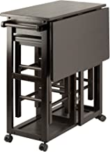 Winsome Suzanne 3-PC Set Space Saver Kitchen, Smoke