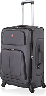 "SwissGear Sion Spinner Luggage 25"", Dark Grey, 25 Inches"