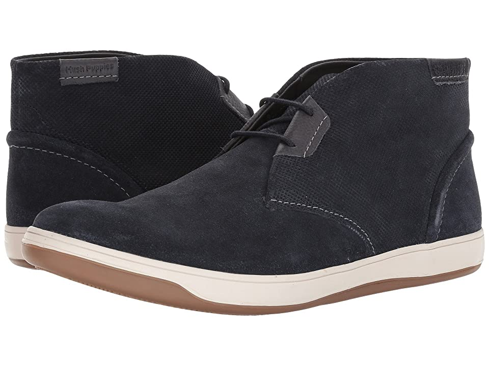 Hush Puppies Taja Commissioner (Navy Suede) Men