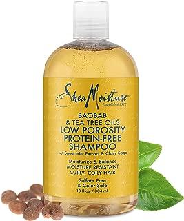 SheaMoisture Baobab & Tea Tree Oils Low Porosity Hydro-Infusion Shampoo, 13 Fluid Ounce