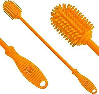 "Sponsored Ad - Kitchiny Silicone Bottle Brush | One Brush | 12.5"" Water Bottle Brush for Your Hydro Flask, Vacuum Sports B..."