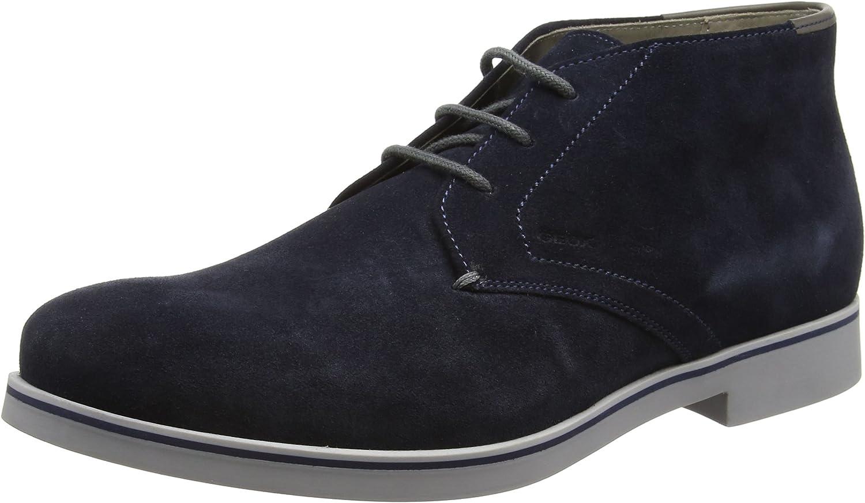 Geox Men's Suede Danio Desert Boots Navy UK 11