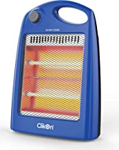 Clikon Room Quartz Heater , 800 Watt - CK4208 (Color May Vary)