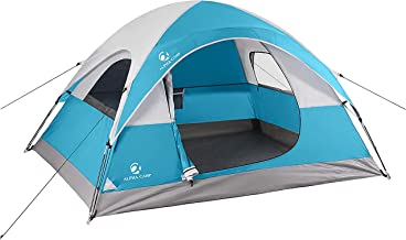 ALPHA CAMP 3~4 Person Tent for Camping Easy Setup Tent
