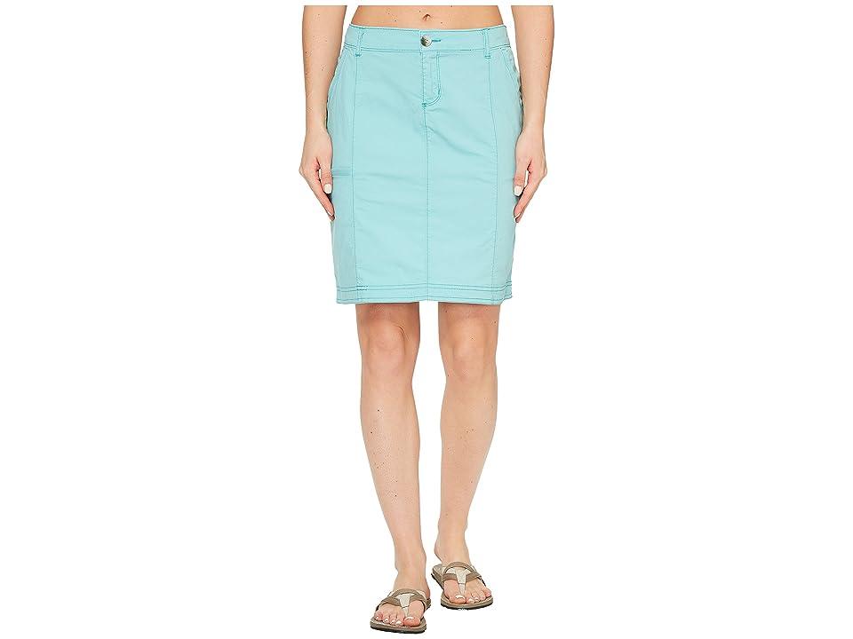 Woolrich Vista Point Eco Rich Skirt (Sky Blue) Women's Skirt
