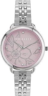 Women's HETTTIE Quartz Watch with Stainless Steel Strap, Silver, 14 (Model: BKPHTS012)