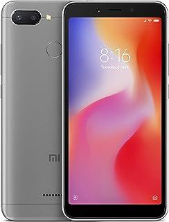Xiaomi Redmi 6 Dual Sim - 32 GB, 3 GB Ram, 4G LTE, Grey - International Version