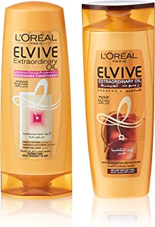 L'oreal Elvive Oil Shampoo Very Dry Hair 400ml + Conditioner 400 Dry Hair