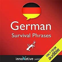 Learn German - Survival Phrases German, Volume 1: Lessons 1-30: Absolute Beginner German #1
