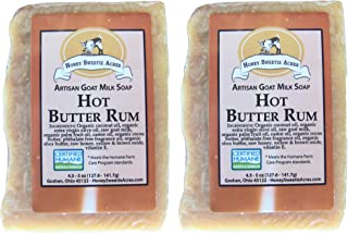 Premium Handcrafted Artisan Goat Milk Soap - FEELS SO WONDERFUL on your skin that 4 out of 5 customers come back! (Hot But...