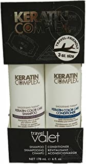 Keratin Complex Color Care Shampoo 3oz & Conditioner 3oz Travel Valet