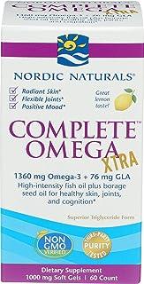 Nordic Naturals Omega Xtra Completo. 1360 Mg - 60 Cápsulas Blandas 60 Unidades 120 g
