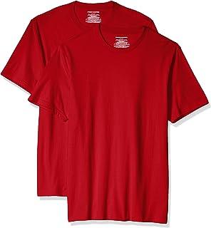 Amazon Essentials Men's Slim-Fit Short-Sleeve Cotton Crewneck T-Shirt, Pack of 2