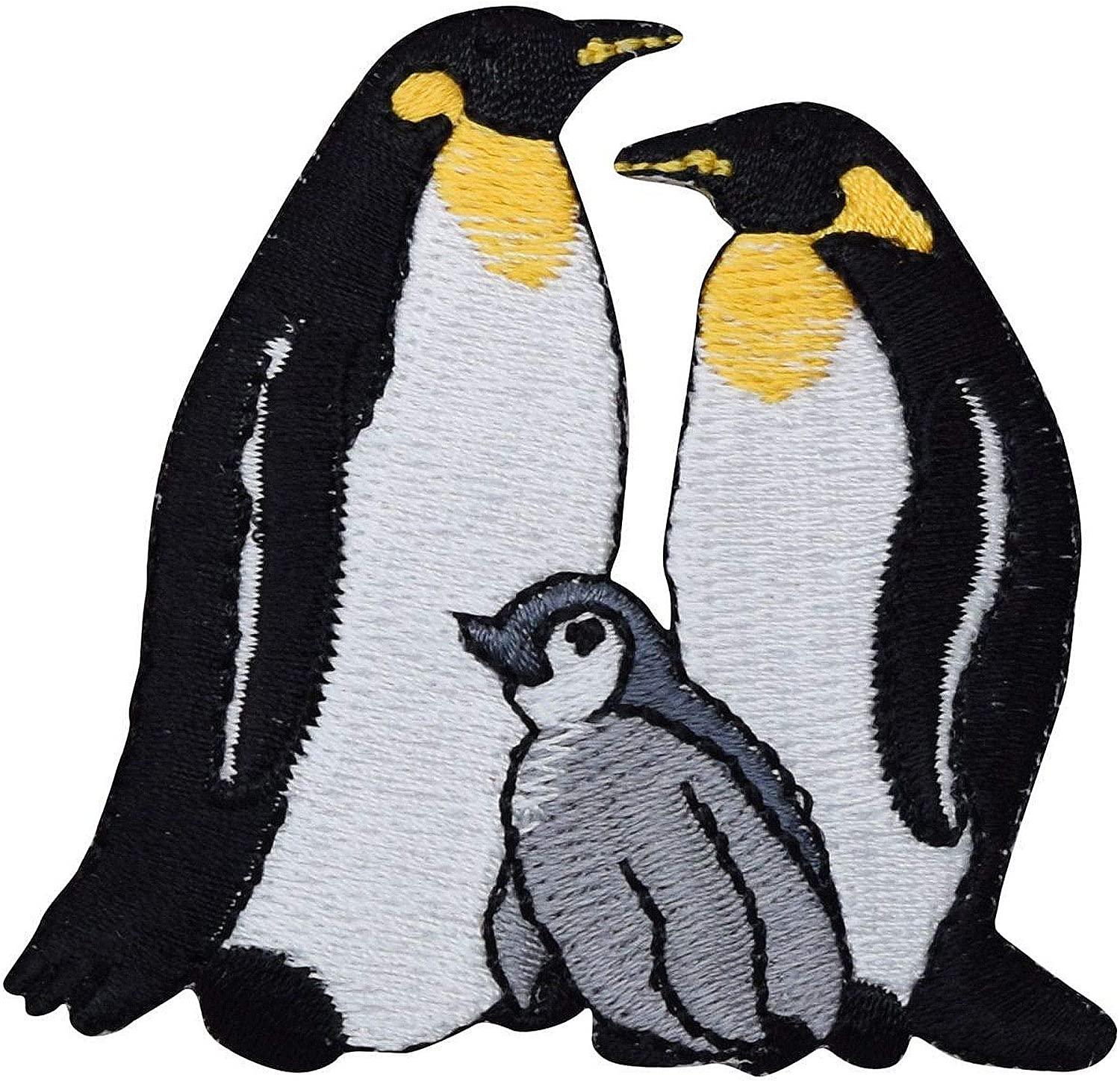 Polar Penguin Family Embroidered on Super popular Baltimore Mall specialty store Iron Patch