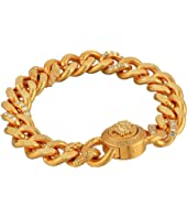 Versace - Crystal Detail Chain Link Bracelet