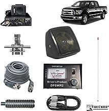 Pro Trucker Pickup CB Radio Kit Includes Radio, 4` Antenna, CB Antenna Mount, CB Coax, SWR Meter w/Jumper Coax, Speaker, a...