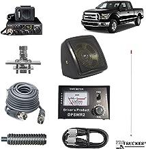 Pro Trucker Pickup CB Radio Kit Includes Radio, 4' Antenna, CB Antenna Mount, CB Coax, SWR Meter w/ Jumper Coax, Speaker, and Spring