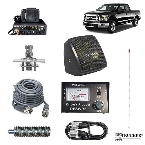 Pro Trucker CB Radio Antenna Mirror Mount For International Trucks