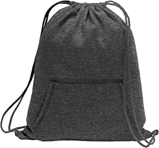 Core Fleece Sweatshirt Cinch Pack OSFA Dark Heather Grey