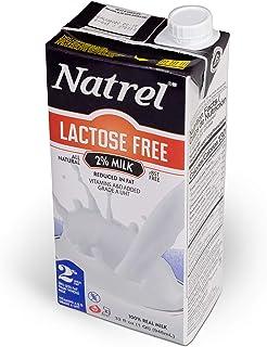 Natrel | 2% Lactose-Free Milk | 32 Ounce | Pack of 6 | Shelf Stable Milk | Gluten-Free | Kosher | Non-GMO | No Refrigerati...