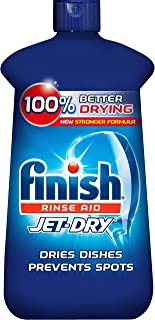 Finish Jet-Dry Rinse Aid, Dishwasher Rinse Agent & Drying Agent, 16 Fl Oz (Pack of 1)