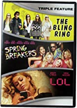 Teen Movie Triple Feature DVD with Bling Ring, Spring Breakers & LOL