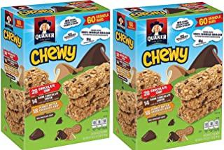 Quaker Chewy Granola Bars 3-Flavor Variety Pack, (.Variety Pack 120 CT)