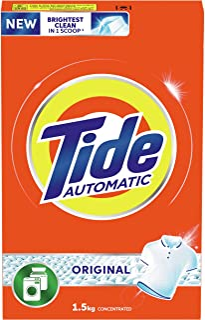 Tide Automatic Original Scent Detergent Powder -Front & Top load 1.5 Kg