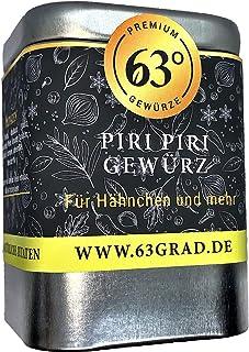 63 Grad - Piri Piri Gewürz - Scharfe Mischung für Geflügel und mehr