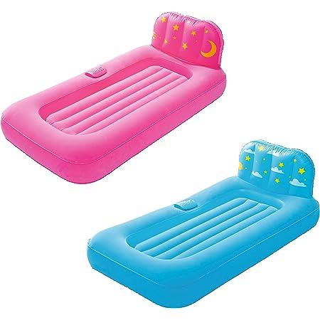 Bestway 67496 - Cama Hinchable Infantil Dream Glimmers Confort 132x76x46 cm