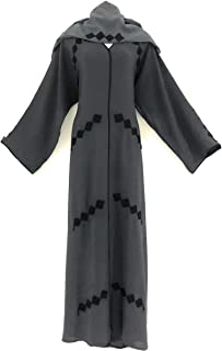 Women Abaya Grey Color Nidha Material Modern Design