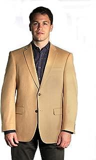 60 Long Big and Tall 100% Camel Hair Sport Coat 60L