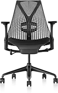 Herman Miller Sayl Chair, Licorice Crepe