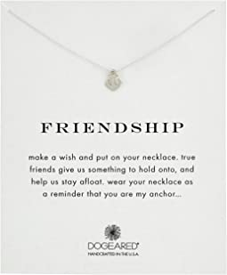 Dogeared Friendship Anchor Reminder Necklace
