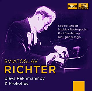 Sviatoslav Richter plays Rachmaninov & Prokofiev