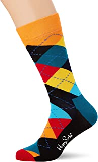 Happy Socks Men's Argyle Sock Cotton Elastane
