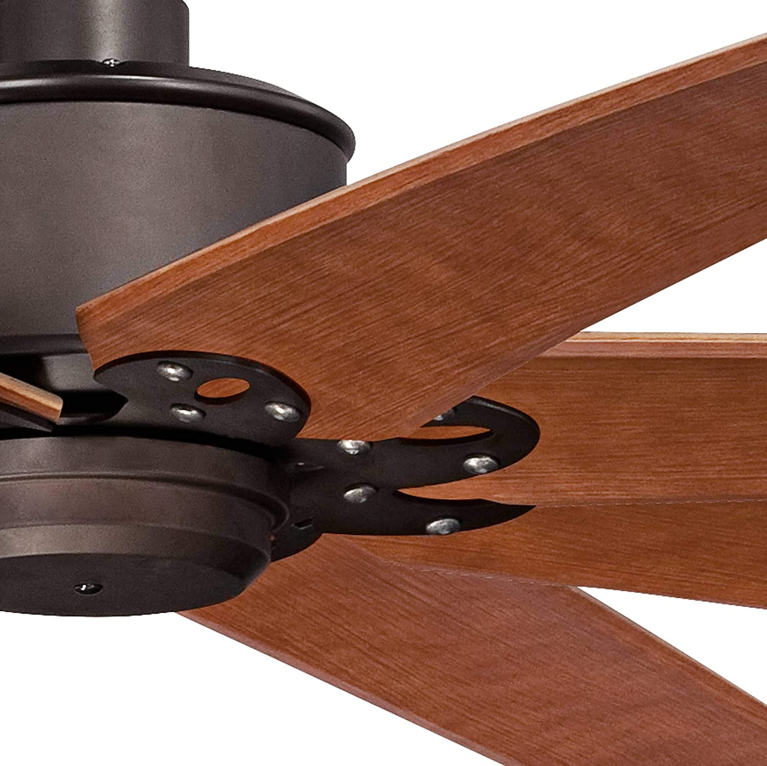 Buy 72 Predator Rustic Industrial Farmhouse Large Outdoor Ceiling Fan With Remote Control English Bronze Cherry Damp Rated For Patio Exterior House Porch Gazebo Garage Barn Roof Casa Vieja Online In