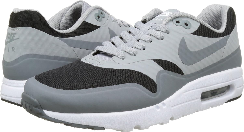 Nike Air Max 1 Ultra Essential - Baskets Homme - Gris (noir/gris ...