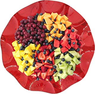 Baal Fruits Bowl for Dining Table, Bowl for Salad, Bowl for Wedding, Bowl for Gift, Red, 25 Gram, Pack of 1