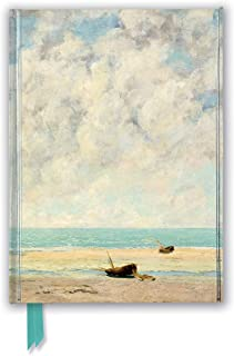 Gustave Courbet: The Calm Sea (Foiled Journal) (Flame Tree Notebooks)