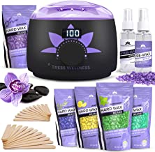 Waxing Kit Wax Warmer -EASY TO USE Digital Display 47 Items – Hair Removal Wax