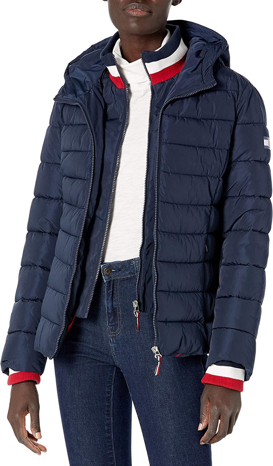 sold out Tommy Hilfiger Max 62% OFF Womens Puffer Jacket
