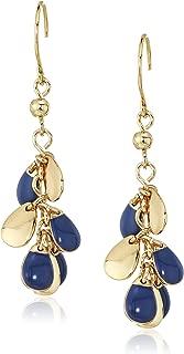 Womens Shaky Cluster Drop Earrings
