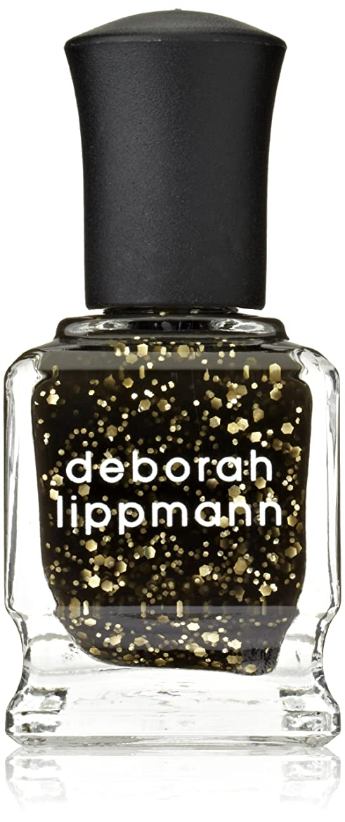 優越専らパース[Deborah Lippmann] デボラリップマン クレオパトラ イン ニューヨーク CLEOPATRA IN NEW YORK ブラックベースにゴールドのグリッターが輝くカラー。 大小のグリッターが混ざり合い、ゴージャスな爪先を演出します この上なくゴージャス! 大人の雰囲気にピッタリなネイルポリッシュで 容量15mL